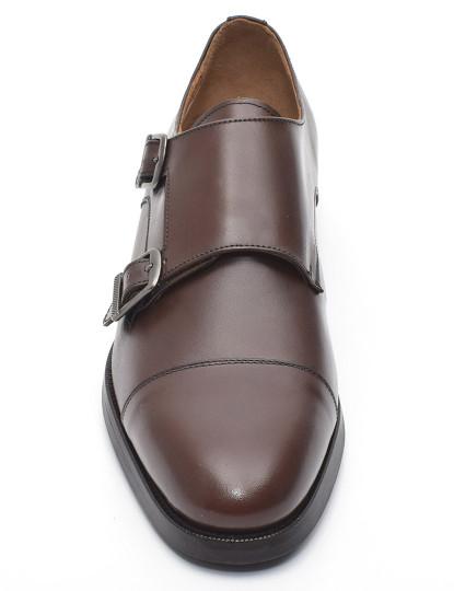 Sapato Derby El Caballo Homem Sola Borracha Bordeaux, até