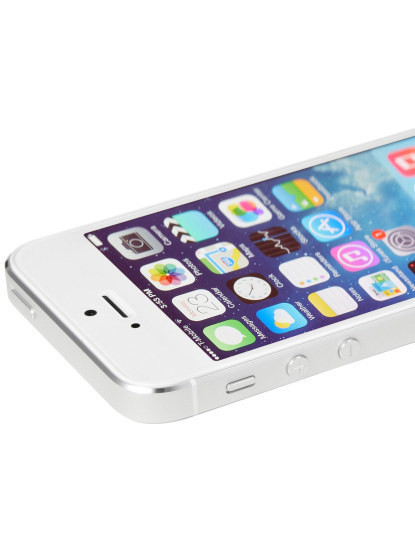 iPhone 5S 16Gb 4G Prateado Branco Recondicionado Grau A
