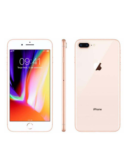 Apple iPhone 8 Plus 64 GB GRAU A+ Gold