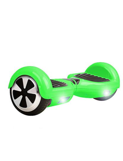 Hoverboard Smart Wheels Com Luz Led Frontal Em Verde E Bluetooth