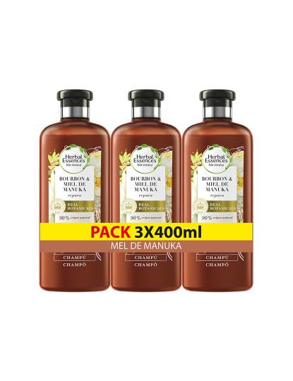 Herbal Pack 3 Herbal Condicionador Mel De Manuka 400Ml