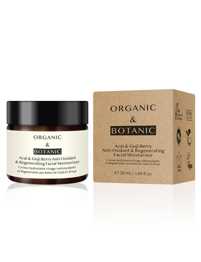 Organic & Botanic Hidratante Açaí & Goji Berry 50ML