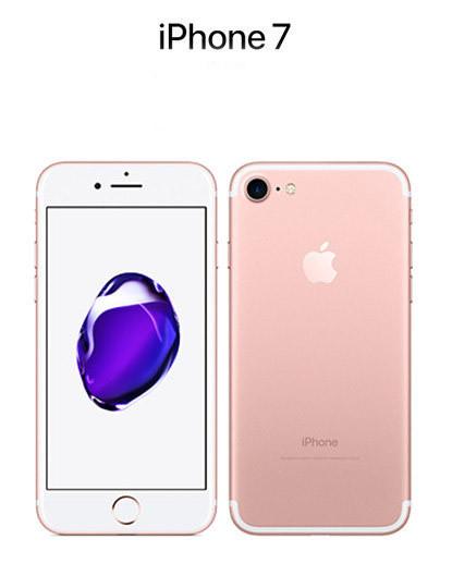 APPLE iPhone 7 32 GB ROSE GOLD GRAU C