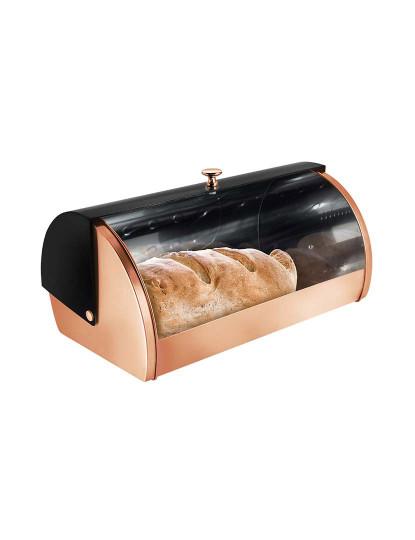Caixa de Pão Berlinger Coleção Preto Rosa