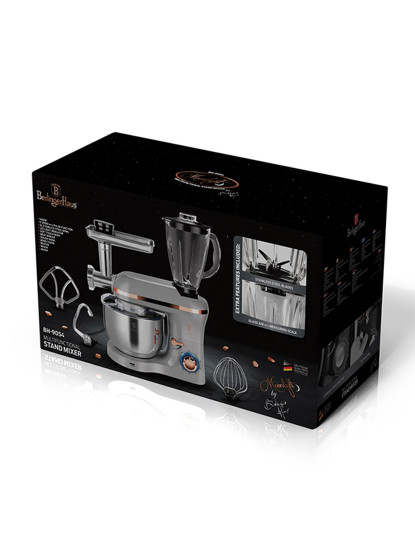 Máquina De Cozinha C/ Picadora De Carne Berlinger Moonlight Collection