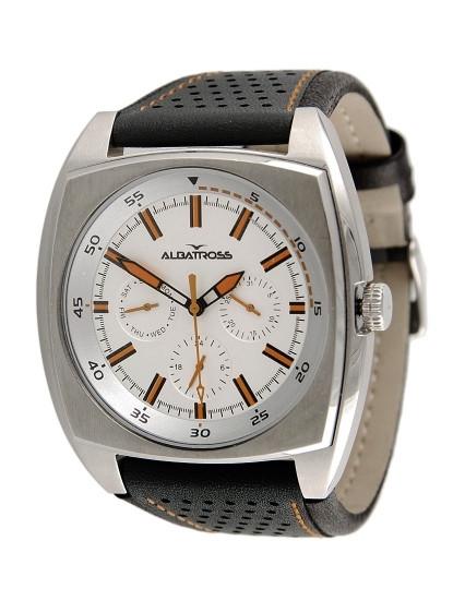 86ec7e5cd3e Relógio Albatross Urban Grunge Castanho Laranja