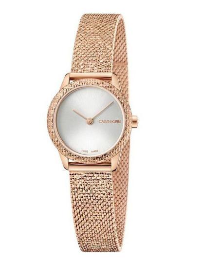 Relógio Calvin Klein Senhora Dourado Rosa