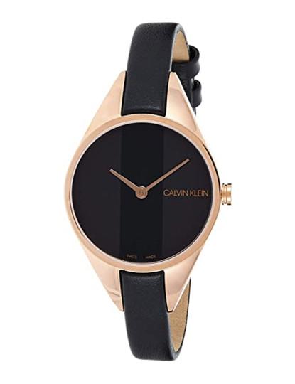 Relógio Calvin Klein  Senhora Dourado Rosa e Preto