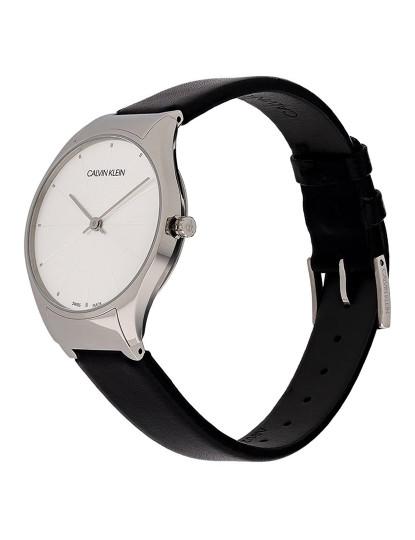 Relógio Calvin Klein Homem Preto e Prateado