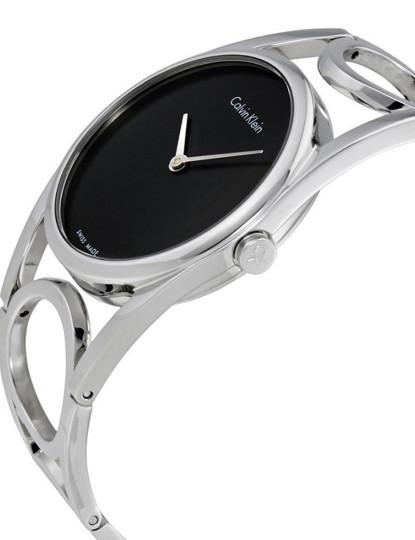 Relógio Calvin Klein Senhora Prateado e Preto