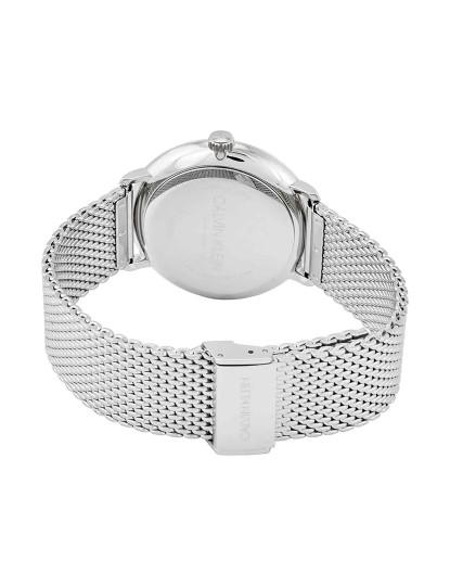 Relógio Calvin Klein Homem Prateado e Preto
