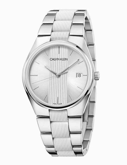 Relógio Calvin Klein Senhora Prateado