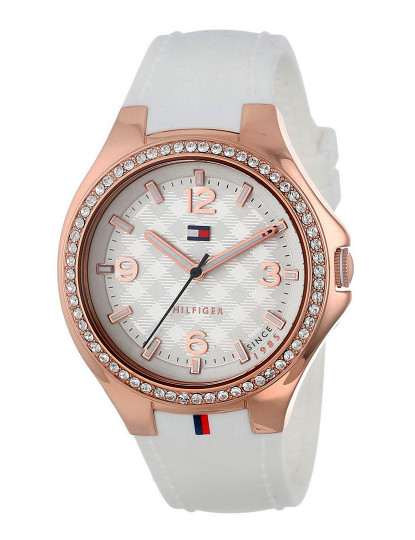 a52deacf1a3 Relógio Tommy Hilfiger Toni Feminino Branco