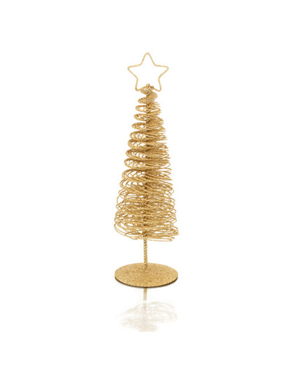 decoracao arvore de natal vermelha e dourada : decoracao arvore de natal vermelha e dourada:Conjunto de 2 Árvores Natal Dourada e Vermelhas
