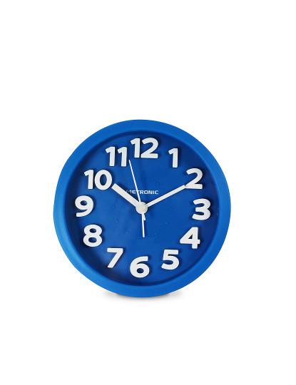 Despertador Analógico Classico Azul