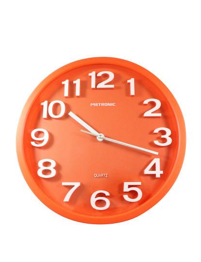 Relógio de Parede ´´Pops´´ Laranja