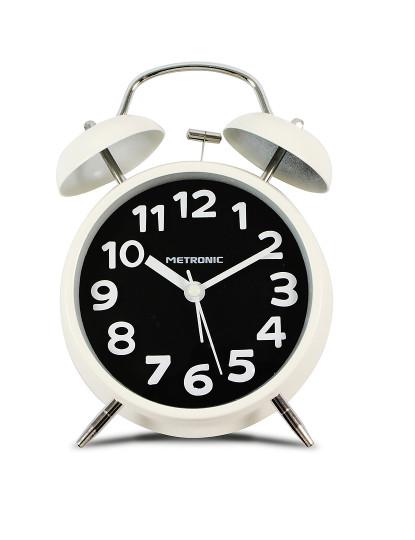 Despertador Analógico Vintage Preto