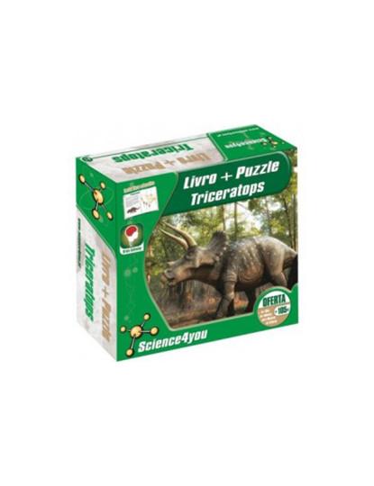 Puzzle 2D Triceratops