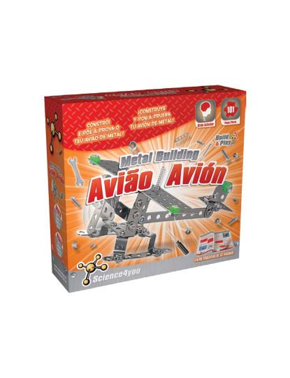 Kit Construção de Metal - Avião