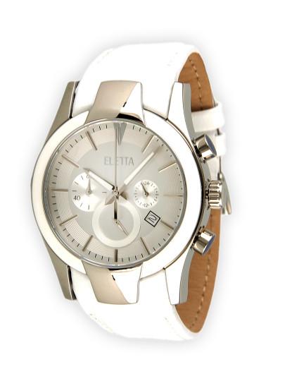 54f1976f6bb Relógio Eletta Glam XXL Branco
