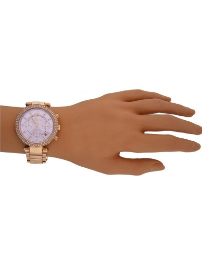 Relógio Michael Kors Dourado Rosa