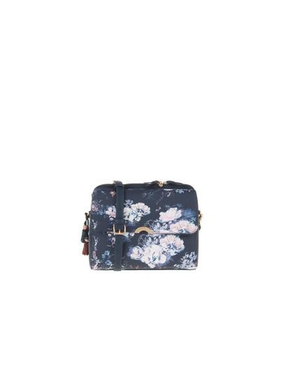 Bolsa Ombro Parfois Azul E Branco Out Royal Flower, até 2018-11-11 417f52afd1