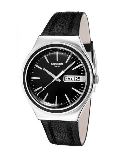 74252475848 Relógio Swatch Charcoal Suit Preto