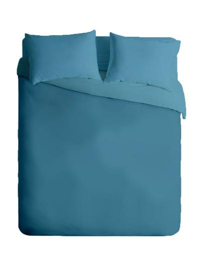 Capa de Edredon Nórdica Micro 2 Azul Petroleo