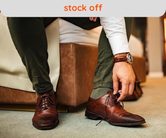 Stock Off Calçado Homem