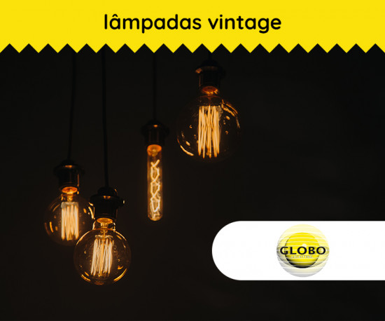 Lâmpada Vintage