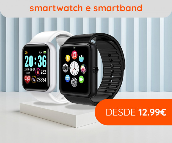 72H Best Sellers Smartwatch & Smartband desde 12,99Eur