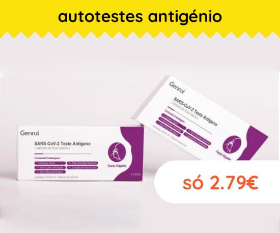 72H Teste Antigénio a 2.79€
