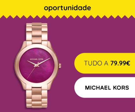 72H Michael Kors tudo a 79,99€