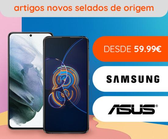 Telemóveis novos desde 59,99€