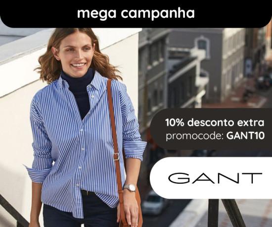 Gant Mulher Mega Campanha +10% desconto