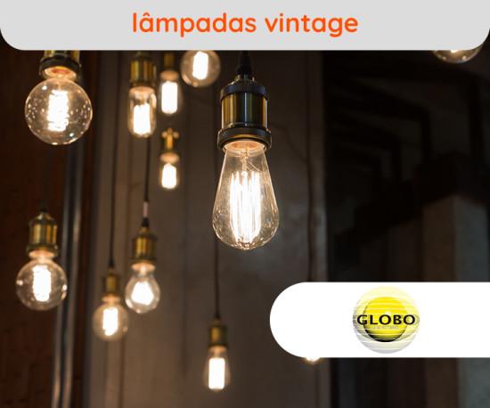 Lâmpadas Vintage