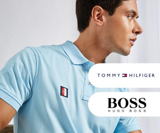 Tommy Hilfiger e Hugo Boss Preços Baixos