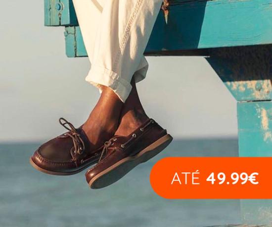 Especial Calçado Homem em pele até 49,99€