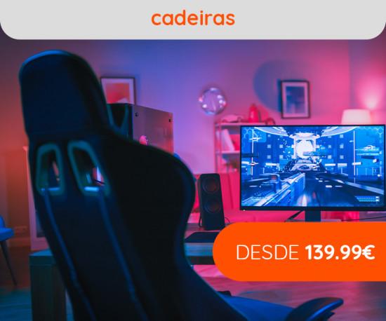 Cadeiras Gaming desde 139.99€