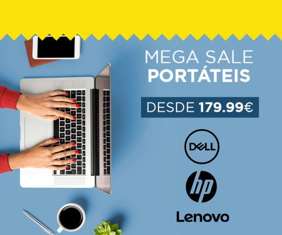 72H Mega Sale Portáteis desde 179,99eur