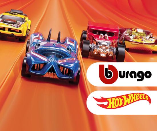 Hot Wheels & Burago!