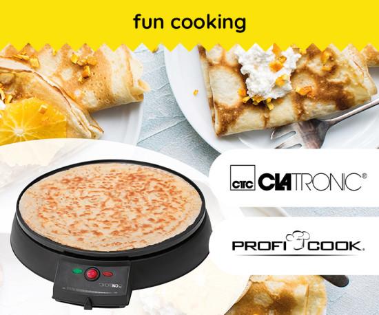 Fun Cooking ( CLATRONIC & PROFICOOK )