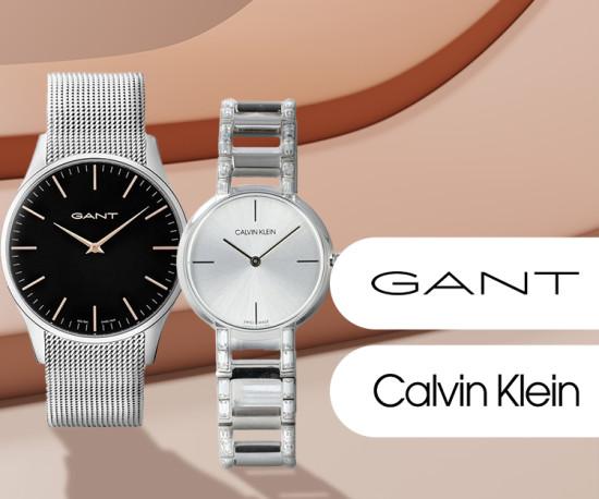 Gant e Calvin Klein