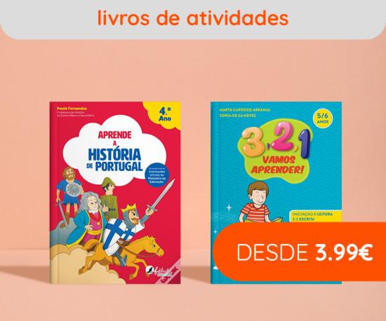 Livros de Atividades desde 3,99eur