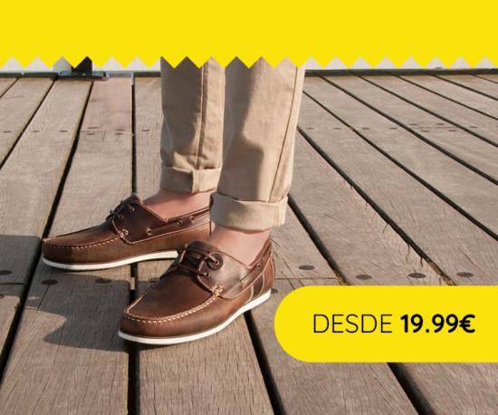 Especial Calçado Homem desde 19,99€