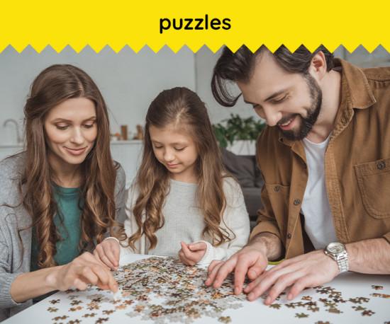 Puzzles para toda a Familía !