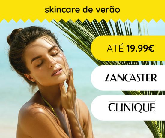 Skincare de Verão até 19,99€