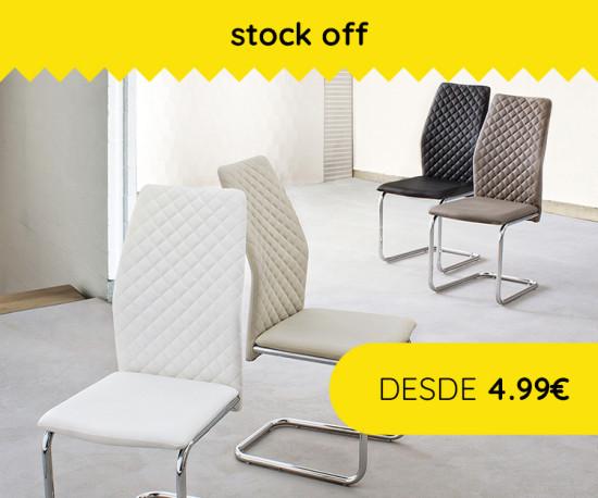 72H Stock Off Cadeiras