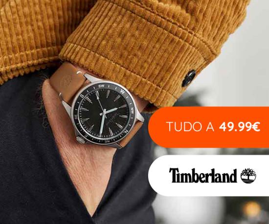 Timberland tudo a 49,99€
