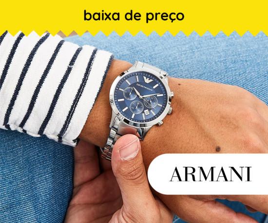 Relógios Armani Baixa de Preço